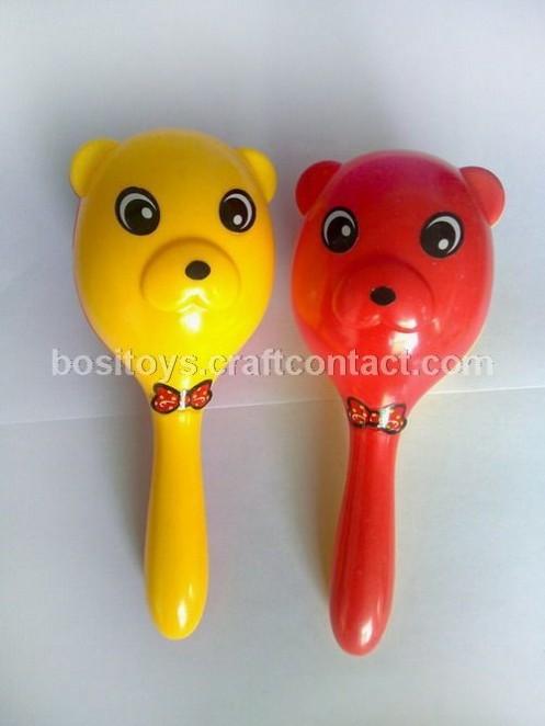 摇铃BB锤玩具可作奶粉尿片等婴幼儿童用品的赠品广告促销礼品