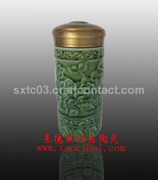 春节礼品 春节员工福利礼品陶瓷保温杯